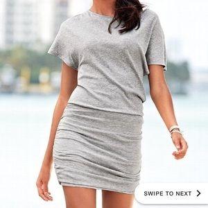 Victoria's Secret Ruched Dolman Tshirt Dress